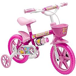Comprar Bicicleta Infantil Nathor Aro 12 Feminina Flower-Nathor