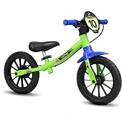 Comprar Bicicleta Infantil Sem Pedal Verde Bike de Equil�brio-Nathor