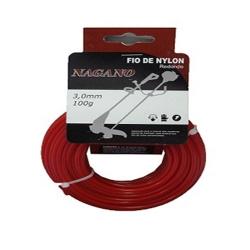 Comprar Bobina de fio de nylon quadrado 2,5 mm 100 gramas - para roçadeira-Nagano