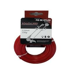 Comprar Bobina de fio de nylon redondo 1,6 mm 100 gramas - para roçadeira-Nagano