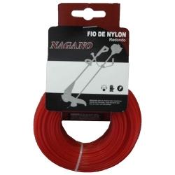 Comprar Bobina de fio de nylon redondo 2,0 mm 100 gramas - para roçadeira-Nagano