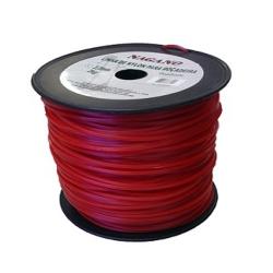 Comprar Bobina de fio de nylon redondo 2,5 mm 2 kg - para ro�adeira-Nagano
