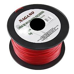 Comprar Bobina de fio de nylon redondo 2,0 mm 1 kg - para roçadeira-Nagano