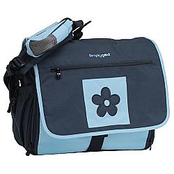 Comprar Bolsa para Beb�, M�e, Maternidade, Daisy Diaper Navy Light - 3 em 1 - Azul-Simply Good