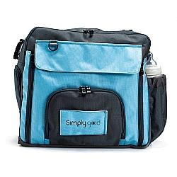 Comprar Bolsa para mãe/maternidade/bebê - Smart Square Diaper - 3 em 1 - Azul (Navy Light Blue)-Simply Good