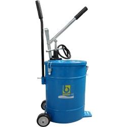 Comprar Bomba manual para óleo 22 Litros com carrinho-Bozza