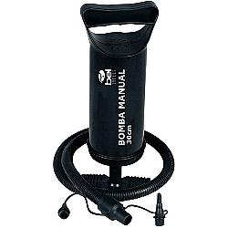 Comprar Bomba de Ar Manual - Inflador - 30 cm com 3 adaptadores-Bel Fix