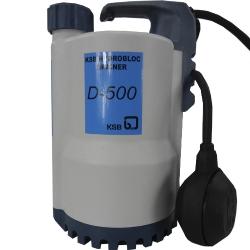 Comprar Bomba submersível hidrobloc drainer 1.1/4 monofásica- 110v - D500-KSB