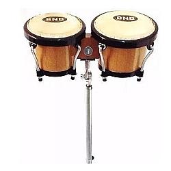 Comprar Bongo Profissional Madeira EVR com Pedestal-BNB Instrumentos Musicais