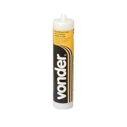 Comprar Borracha siliconada acético incolor 280 gramas-Vonder