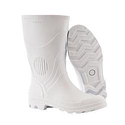 Comprar Bota de PVC branca com forro cano m�dio-Vonder