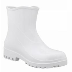 Comprar Bota de PVC cano curto branca-Cal�ados Rca