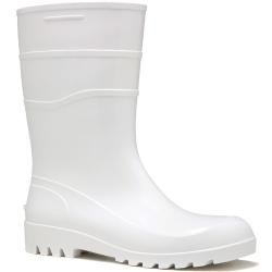 Comprar Bota de PVC cano longo branca-Calçados Rca