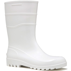 Comprar Bota de PVC cano longo branca-Cal�ados Rca
