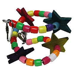 Comprar Brinquedo Estrelas para Periquitos, Cacatuas, Calopsitas-Importado