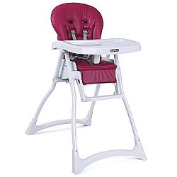 Comprar Cadeira de Alimentação Merenda com Cinto de segurança Framboesa-Burigotto