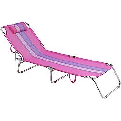 Comprar Cadeira Espreguiçadeira, Alumínio Rosa-MOR