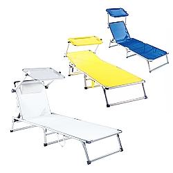 Comprar Cadeira Espregui�adeira B�zios - Alum�nio T�xtil-Bel Fix
