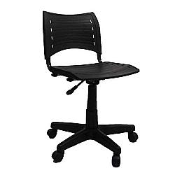 Comprar Cadeira Evidence Giratória Polipropileno Preta - FN13-Furniture
