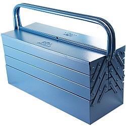 Comprar Caixa de Ferramenta Sanfonada, 7 Gavetas, Azul-Fercar