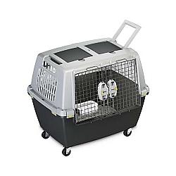 Comprar Caixa de Transporte Duplo cães e gatos, com divisória - Gulliver Touring-American Pets