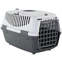 Comprar Caixa de Transporte para c�es e gatos - Italiana - Tam 1 - Cinza-American Pets