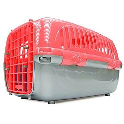 Comprar Caixa De Transporte Pl�stico Travel Pet Vermelha N�mero 3 - Para c�es e gatos-Agrodog
