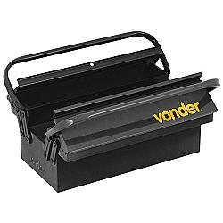 Comprar Caixa metálica para ferramentas, com 5 gavetas, 40 cm x 19 cm x 20 cm-Vonder