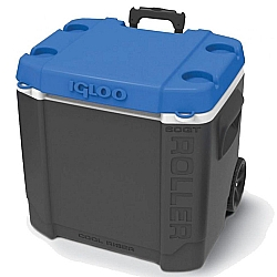 Comprar Caixa Plástica Térmica com Rodas Cinza 56L - 60QT-Lee Tools
