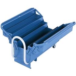 Comprar Caixa sanfonada para ferramentas 5 gavetas com puxador retrátil e rodas - MM550M-Marcon
