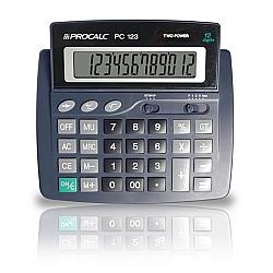 Comprar Calculadora de Mesa 12 D�gitos Extra Grandes - PC123-Procalc