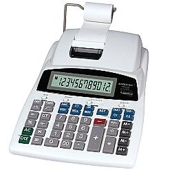 Comprar Calculadora de Mesa Profissional com Impressão e Fita com Visor LCD com 12 Dígitos Grandes - PR3500-Procalc
