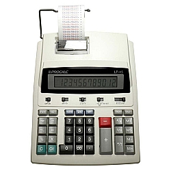 Comprar Calculadora de Mesa Semi-Profissional com Impressão e Bobina Visor de Cristal Líquido Extra Grande com 12 Dígitos - LP45-Procalc