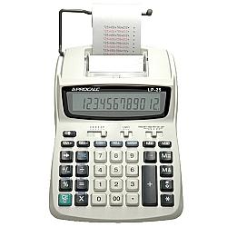 Comprar Calculadora de Mesa Semi-Profissional com Impressão e Bobina Visor de Cristal Líquido com 12 Dígitos Grandes- LP25-Procalc