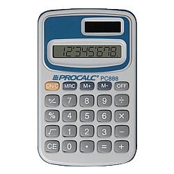 Comprar Calculadora Pessoal 8 D�gitos - PC888-Procalc