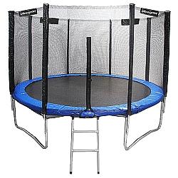 Comprar Cama Elástica com Escada e Rede 14 Pés - Diâmetro 427 cm - TACE14P-Tander Home