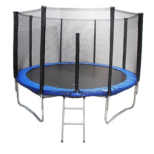 Comprar Cama Elástica com Escada e Rede 8 Pés - Diâmetro 244 cm - TACE8P-Tander Home
