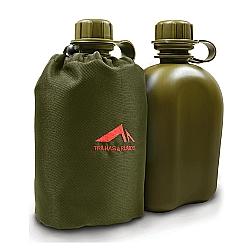 Comprar Cantil com Capa Termica 900ml Camping-Trilhas e Rumos