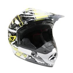 Comprar Capacete Cross - TH1 Top Helmet - Amarelo-Pro Tork