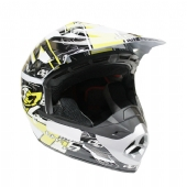 CAPACETE CROSS - TH1 TOP HELMET - AMARELO (CAP182AM)