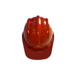 Comprar Capacete de proteção com aba frontal e carneira vermelho-Vonder