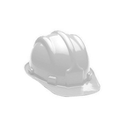 Comprar Capacete de seguran�a branco com selo INMETRO-Plastcor
