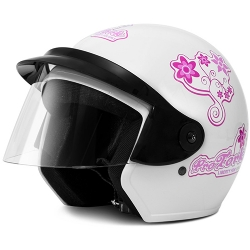 Comprar Capacete Liberty Three For Girls - Branco-Pro Tork