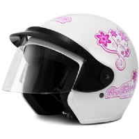 CAPACETE LIBERTY THREE FOR GIRLS - BRANCO (CAP53BC)
