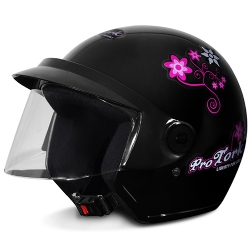 Comprar Capacete Liberty Three For Girls - Preto-Pro Tork
