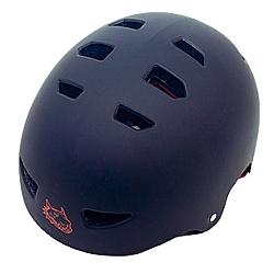 Comprar Capacete Red Nose ABS Preto e Vermelho-Bel Fix