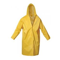 Comprar Capa de chuva com capuz forrada amarela-Ledan