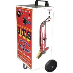 Comprar Carregador de bateria 50 ampéres com carrinho de carga lenta e rápida auxiliar de partida- JTS003-J.T.S