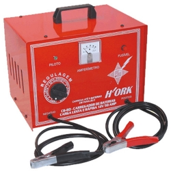 Comprar Carregador de bateria lenta / rápida /super rápida - 50 Amp - 12V - Mod.CB80-Hork