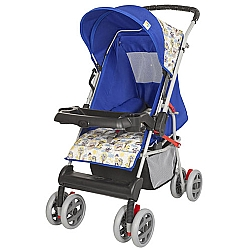 Comprar Carrinho Azul Berço Bebê Magni Reversível Porta Objeto-Tutti Baby